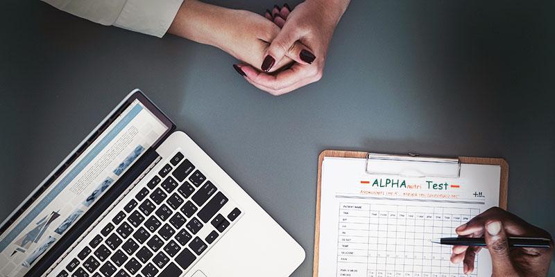 alpha nutri test metavolistiki analysh flegmoni